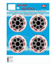 IN-LINE WHEELS 90mm/82A
