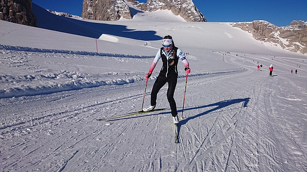 Andrea's training in Livigno, Italy