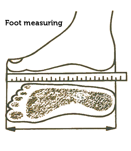 Foot measuring